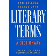 Literary Terms : A Dictionary
