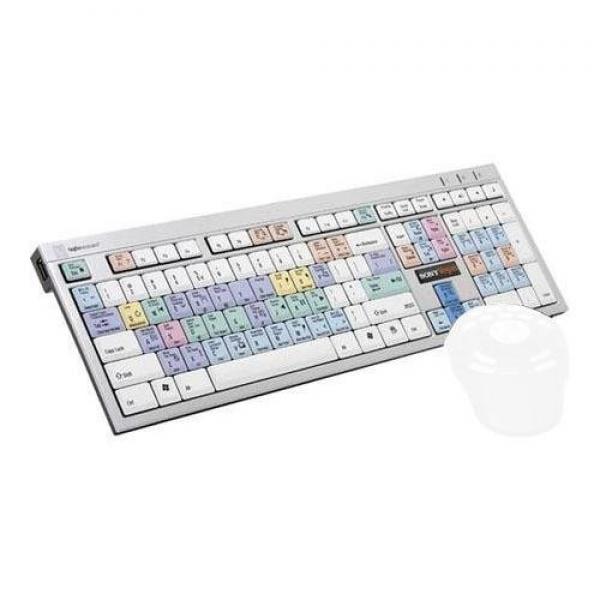 LogicKeyboard Sony Vegas Slim Line PC Keyboard