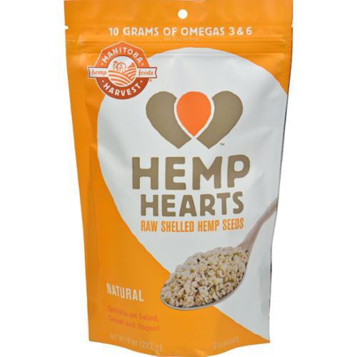Manitoba Harvest Shelled Hemp Hearts Hemp Seed - 8 oz