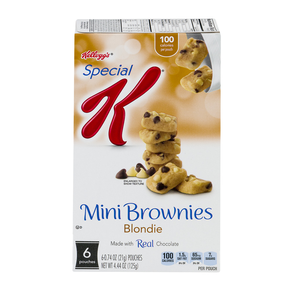 Kellogg's Special K Mini Brownies Blondie - 6 CT