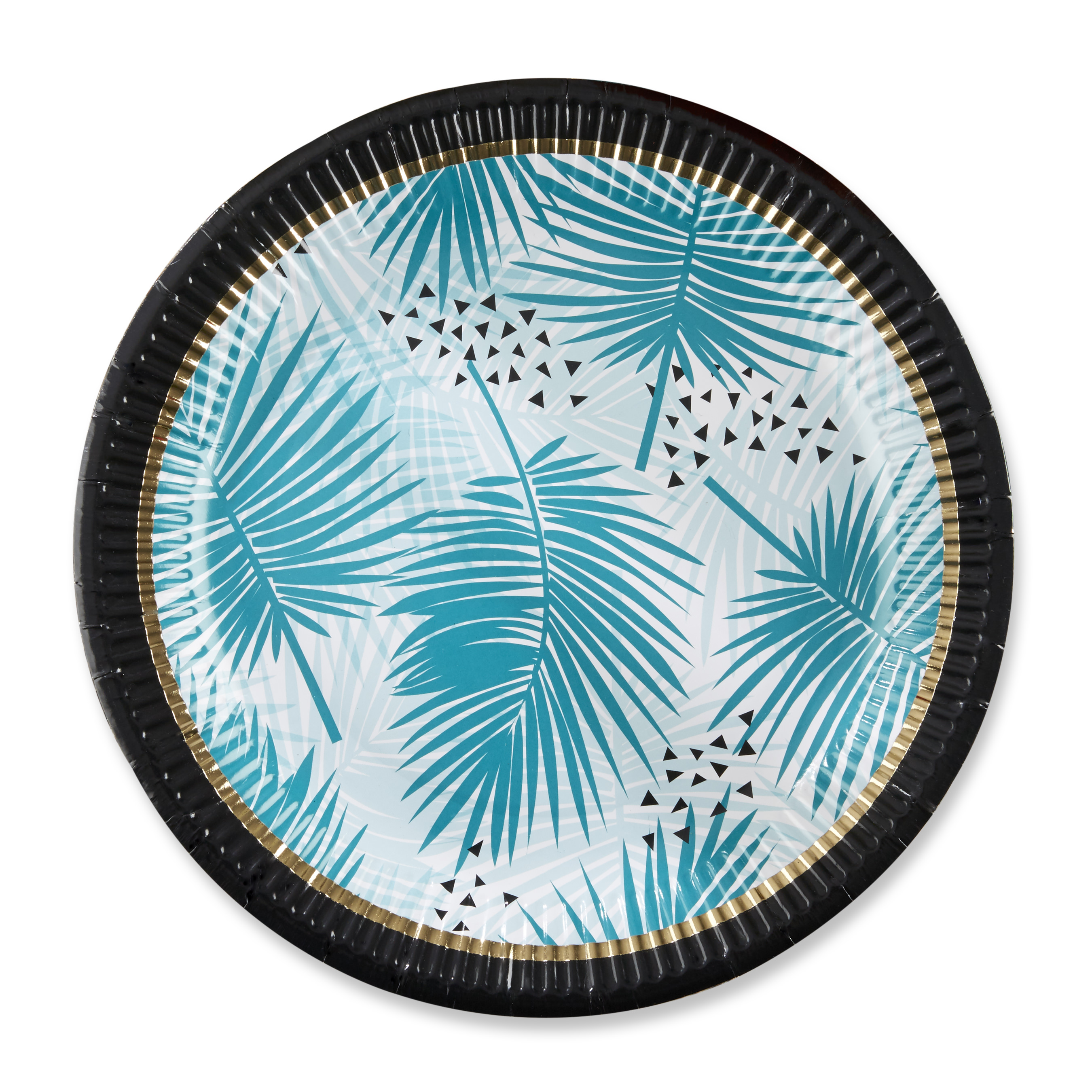 Tropical Chic Paper Plates (Set of 8)