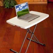 Lifetime 26 Quot Personal Folding Table White Granite