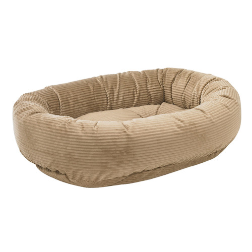 Donut Bed in Praline Fabric (XS)