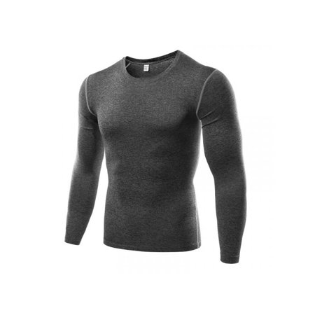 Leezo Men Compression Baselayer Body Thermal Under Skin Long Sleeve Shirt Tight Gear Top Gore Ws Thermal Tight