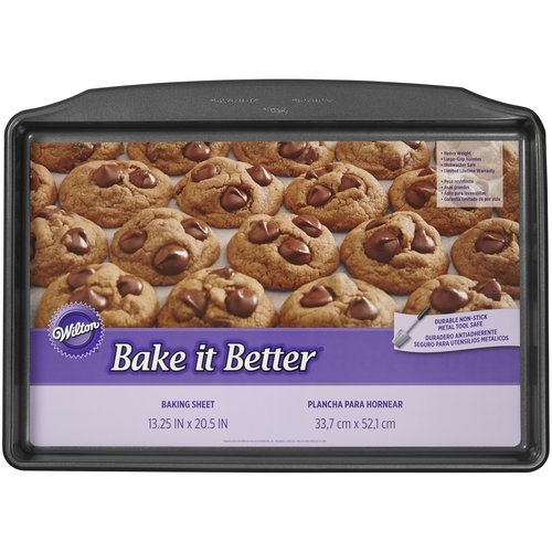 Wilton Bake It Better Giant Cookie Sheet, 13 x 20 in.