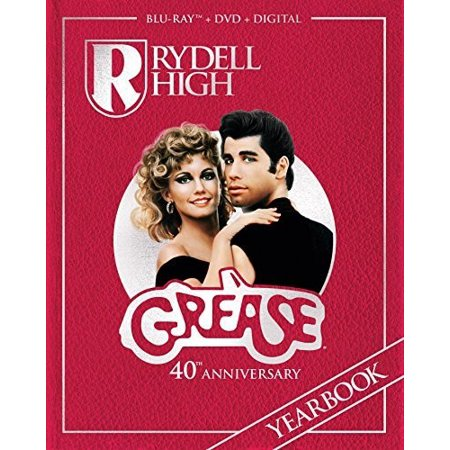Grease (40th Anniversary Edition) (Blu-ray + DVD + Digital)
