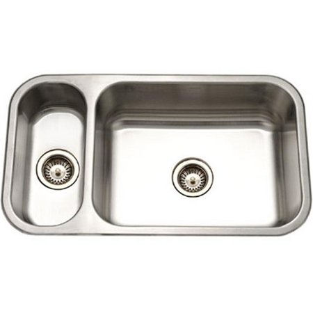 5cc7be009af0 Houzer EHD-3118-1 Elite Series Undermount Stainless Steel 70 - 30 Double  Bowl ...
