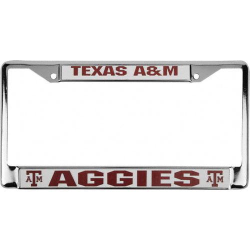 NCAA - Texas A&M Aggies Chrome License Plate Frame