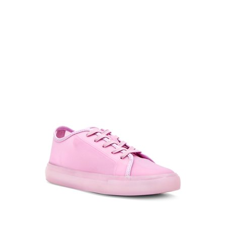 The Glam Glitter Lace-Up Sneakers