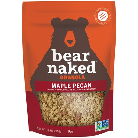 Bear Naked 100  Pure   Natural Maple Pecan Granola Cereal  12 Oz
