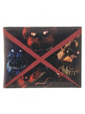 0ef0348271a1 Product Image Wallet - Five NIghts At Freddy's - Evil Faces Bi-Fold New  Licensed mw3imgfnf