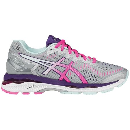 2ae7a56058 ASICS - ASICS Women s GEL-Kayano 23 Running Shoes (Silver Pink