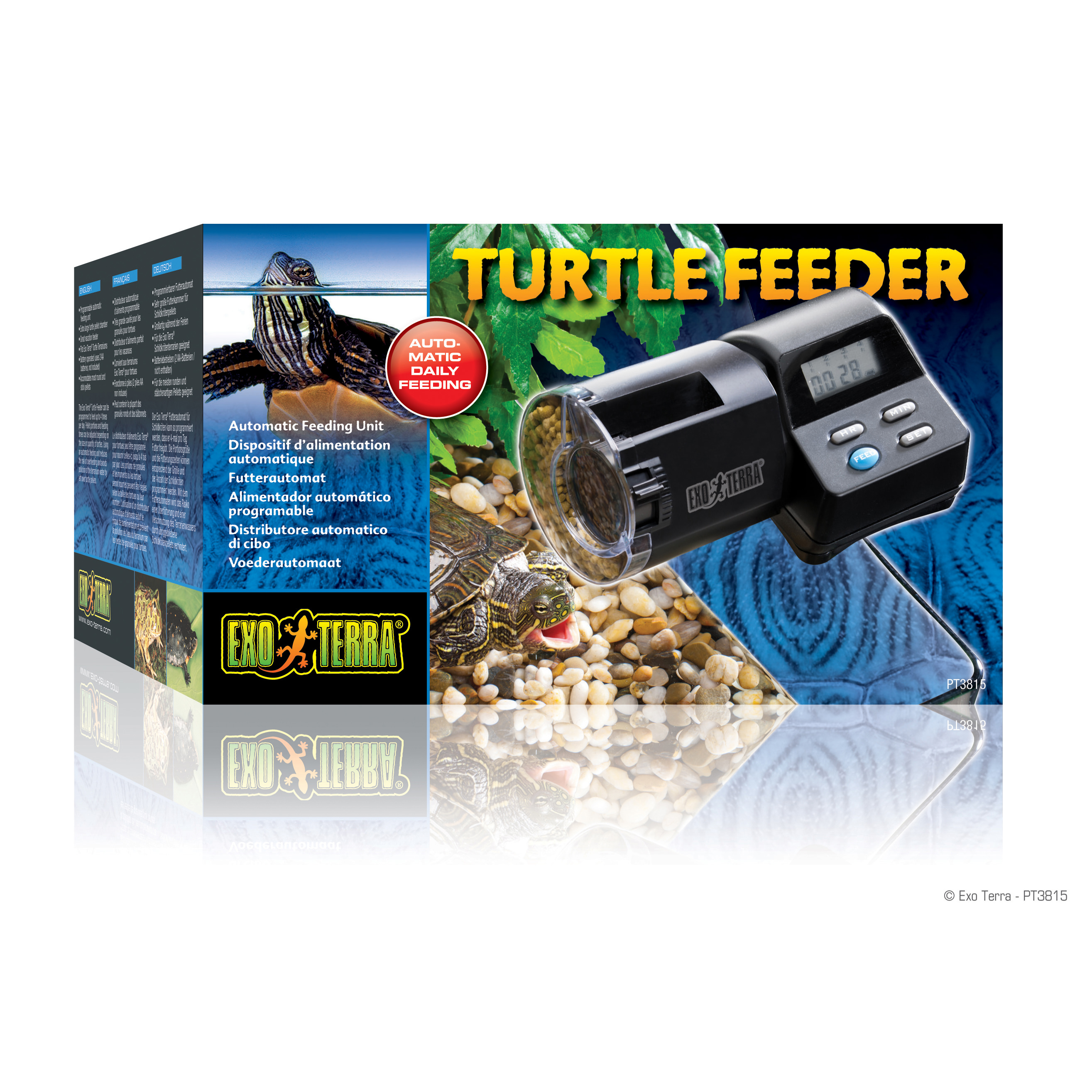ExoTerra Turtle Automatic Feeder for Amphibians