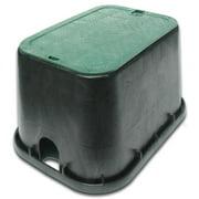 "NDS Valve Box,Rectangular,12"" H x 15-1/2"" W 113BC"