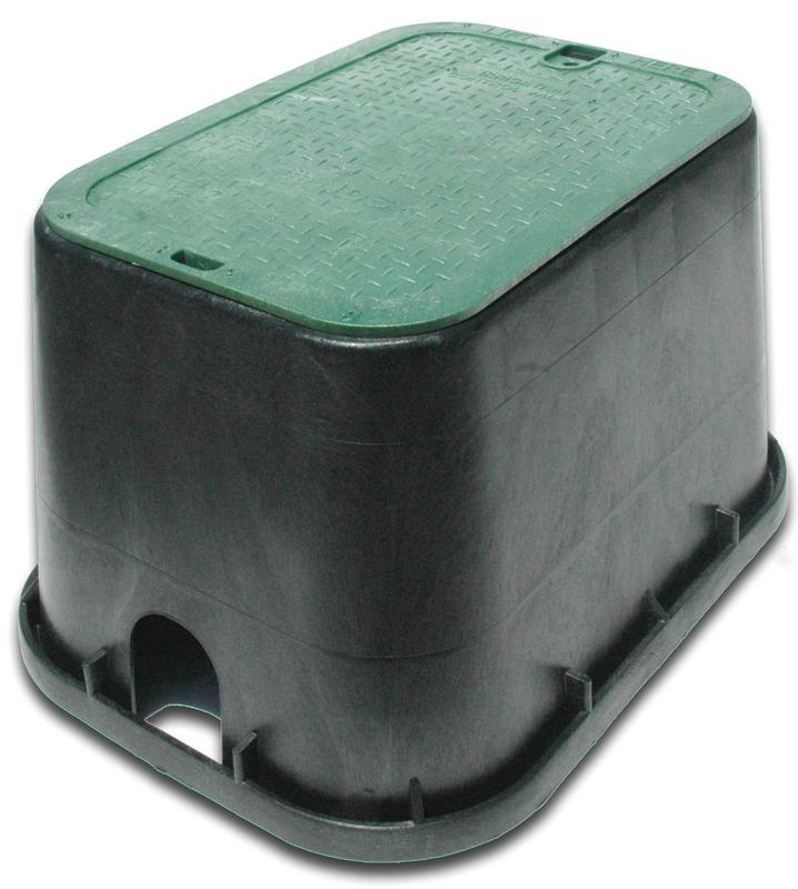 "NDS Valve Box,Rectangular,12"" H x 15-1/2"" W 113BC"