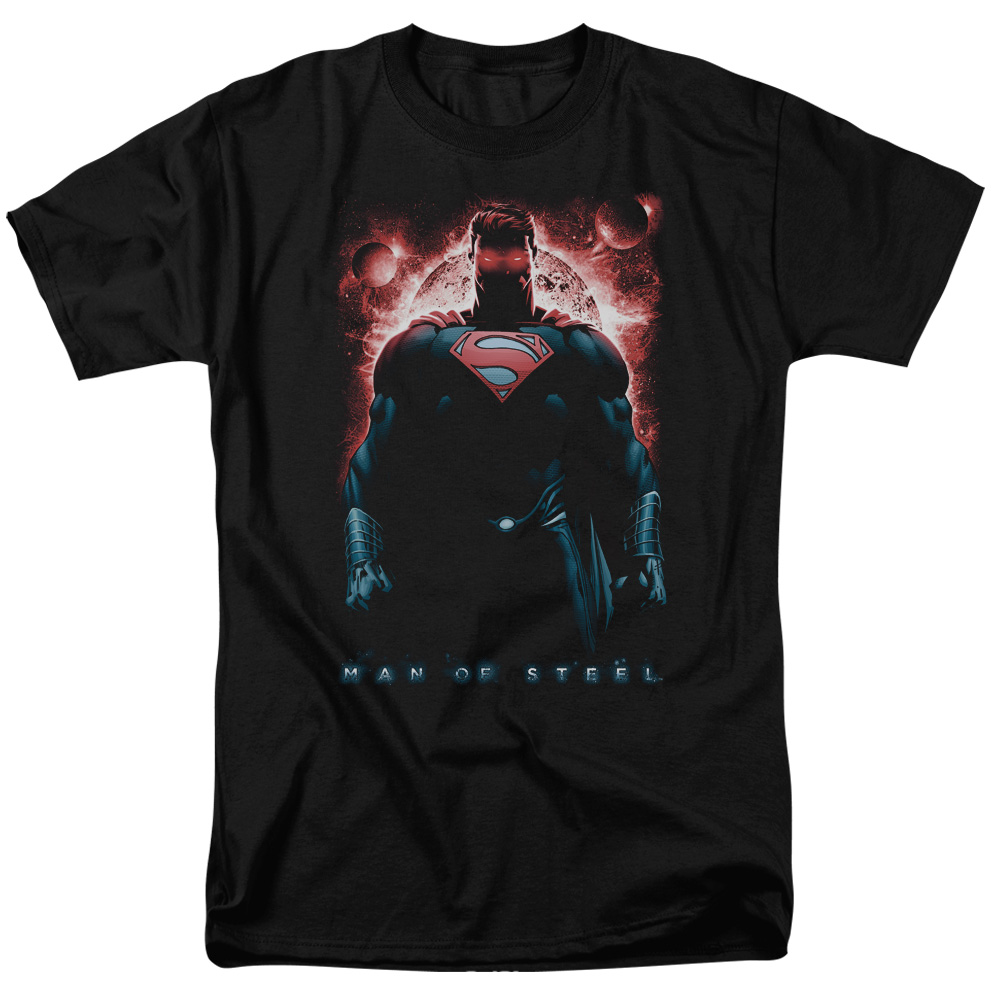 Man of Steel Superman Red Son Of Krpton Mens Short Sleeve Shirt
