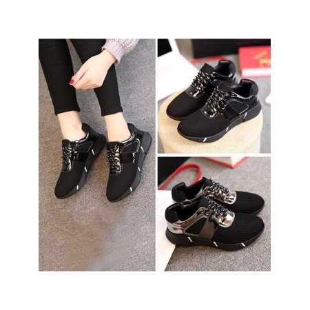 Women Casual Shoe Running Shoes Students Breathable Heighten