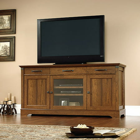 Sauder Carson Forge TV Stand for TVs up to 70″