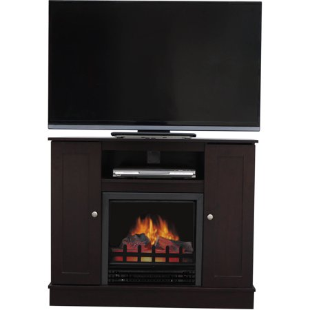 Decor flame electric fireplace for tvs up to 42 medium for Decor flame electric fireplace