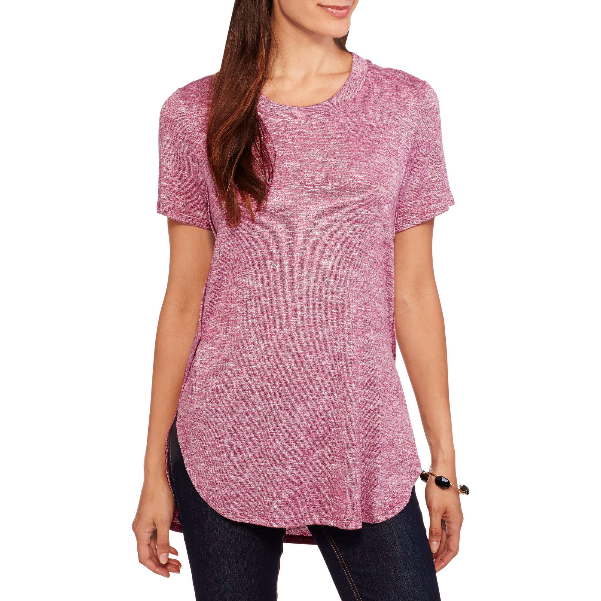 Faded Glory Women's Textured Tunic Top