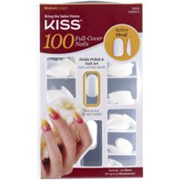 Product Image Kiss 100 Full Cover Nails Active Oval