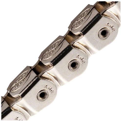 "KMC KK710NP Kool Knight Half-Link Chain: 1/8"" 112 Links Silver"