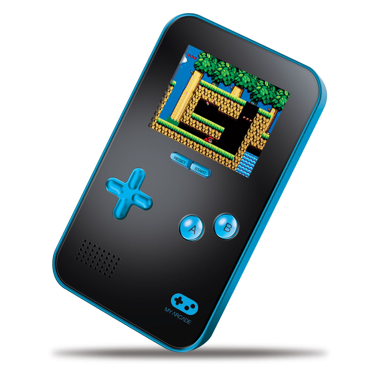 dreamGEAR DGUN-2890 My Arcade Go Gamer Portable Gaming System, Blue/Black