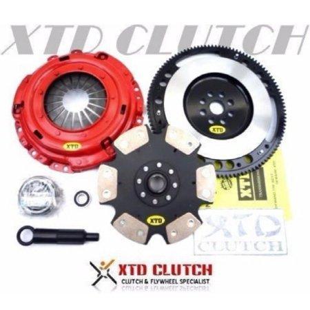 XTD STAGE 4 CLUTCH & 9LBS FLYWHEEL KIT 94-01 INTEGRA CIVIC CRV B16 B18 B20 (Clutch Stage)