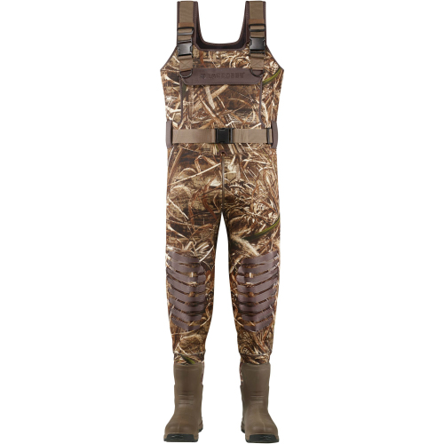 LaCrosse Aero Tuff Hunting Chest Wader Camo Max-5 With Removable EVA Footbed Size 9 by LaCrosse Footwear