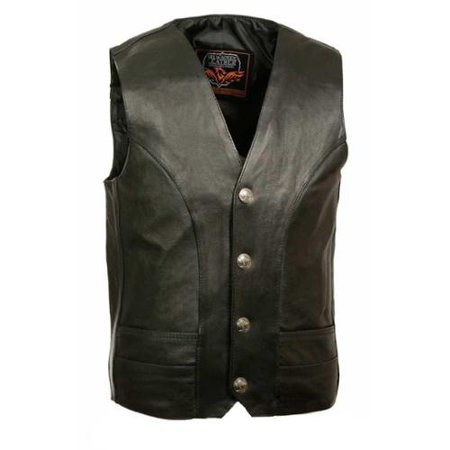 Men's Classic Vest w/ Buffalo Nickel Snaps (48) - 48 Inches -