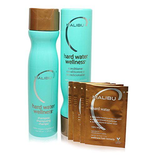 Hard Water Wellness Treatment Kit - Shampoo Conditioner & Hair Remedy