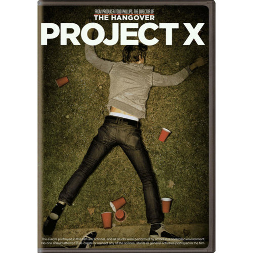 Project X (With INSTAWATCH) (Widescreen)