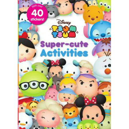 Disney Tsum Tsum Super-Cute Activities for $<!---->