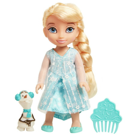 "Disney Princess Frozen Petite Elsa 6"" Doll includes best friend Olaf"