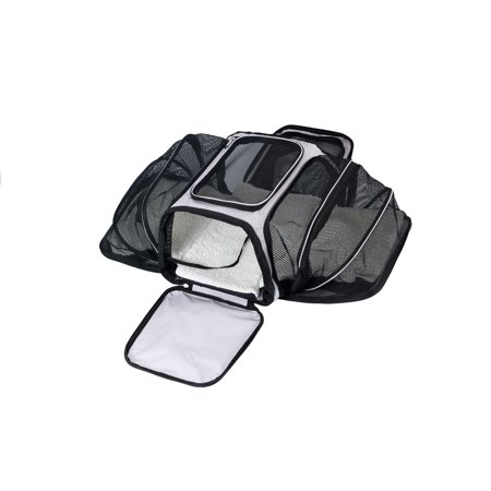 Dog Carrying Bag (Dog Carrier Pet Puppy Cat Travel Tote Bag Comfort Safety Expandable Carry Cage)