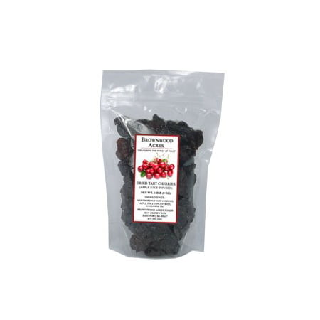 Dried Tart Cherries Sweetened with Apple Juice Concentrate - 1/2 Pound