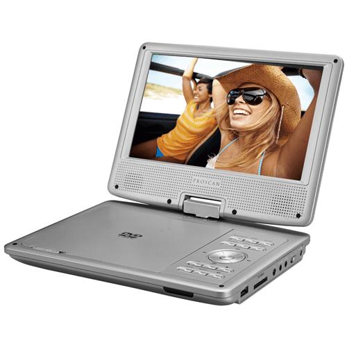 "Proscan PDVD9806-B-TITANIUM 9"" Swivel Screen Portable DVD & Media Player - Manufacturer Refurbished"