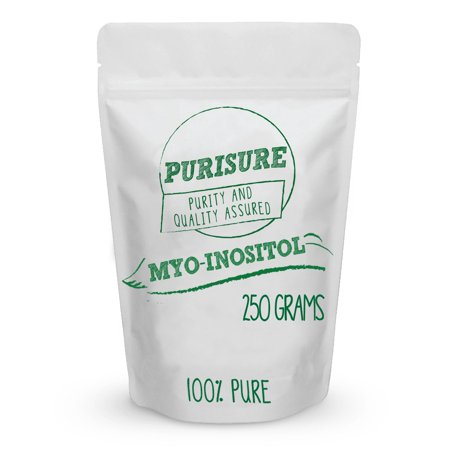 Purisure Myo Inositol Powder 250g (500 Servings) | Nootropic | Cognitive Enhancer | Mood Support | Memory | Learning | Focus | Concentration | Boosts Mental and Physical