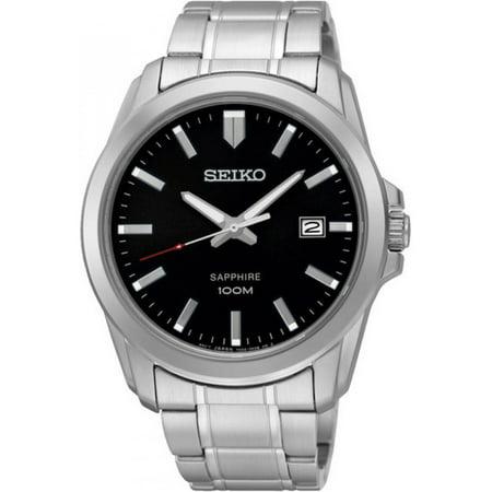 - SEIKO SGEH49P1,Men's dress,Stainless Steel Case & bracelet,Sapphire Crystal,Date,100m WR,SGEH49