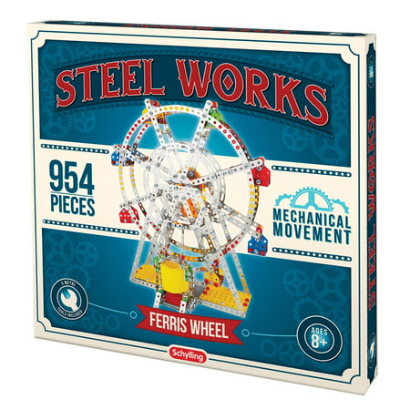 Ferris Wheel Building Set (Steel Works Metal Ferris Wheel Construction)