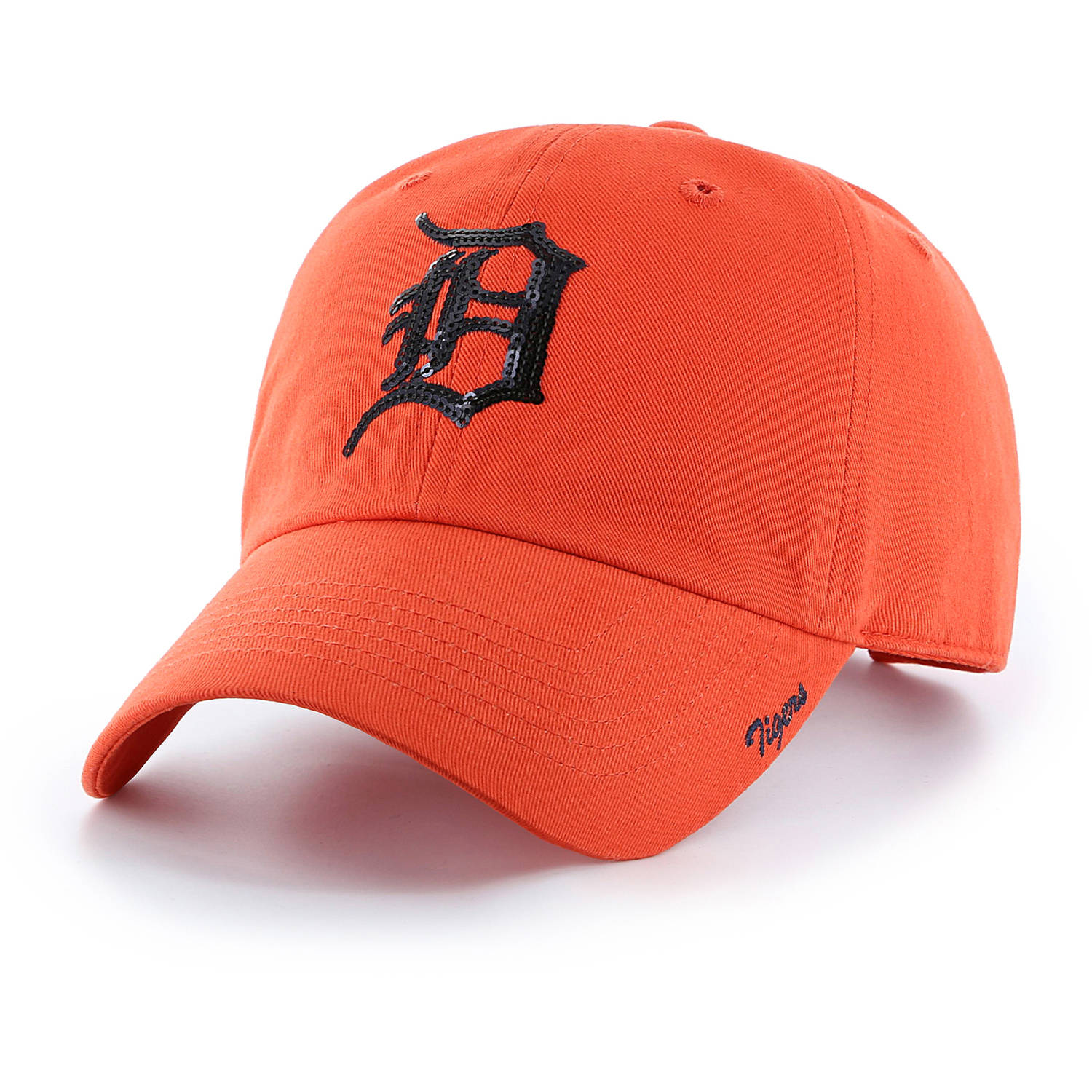 MLB Detroit Tigers Sparkle Women's Adjustable Cap Hat by Fan Favorite by Overstock