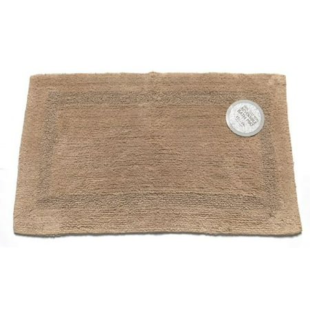 Medium-Sized, Reversible Cotton Bath Mat in (Acrylic Whirlpool Bath Reversible Outlet)