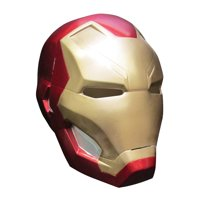 Captain America 3 Iron Man 2 Pc Mask Adult Halloween Accessory