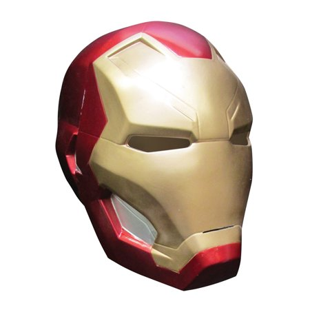 Captain America 3 Iron Man 2 Pc Mask Adult Halloween Accessory - Halloween Iii Masks