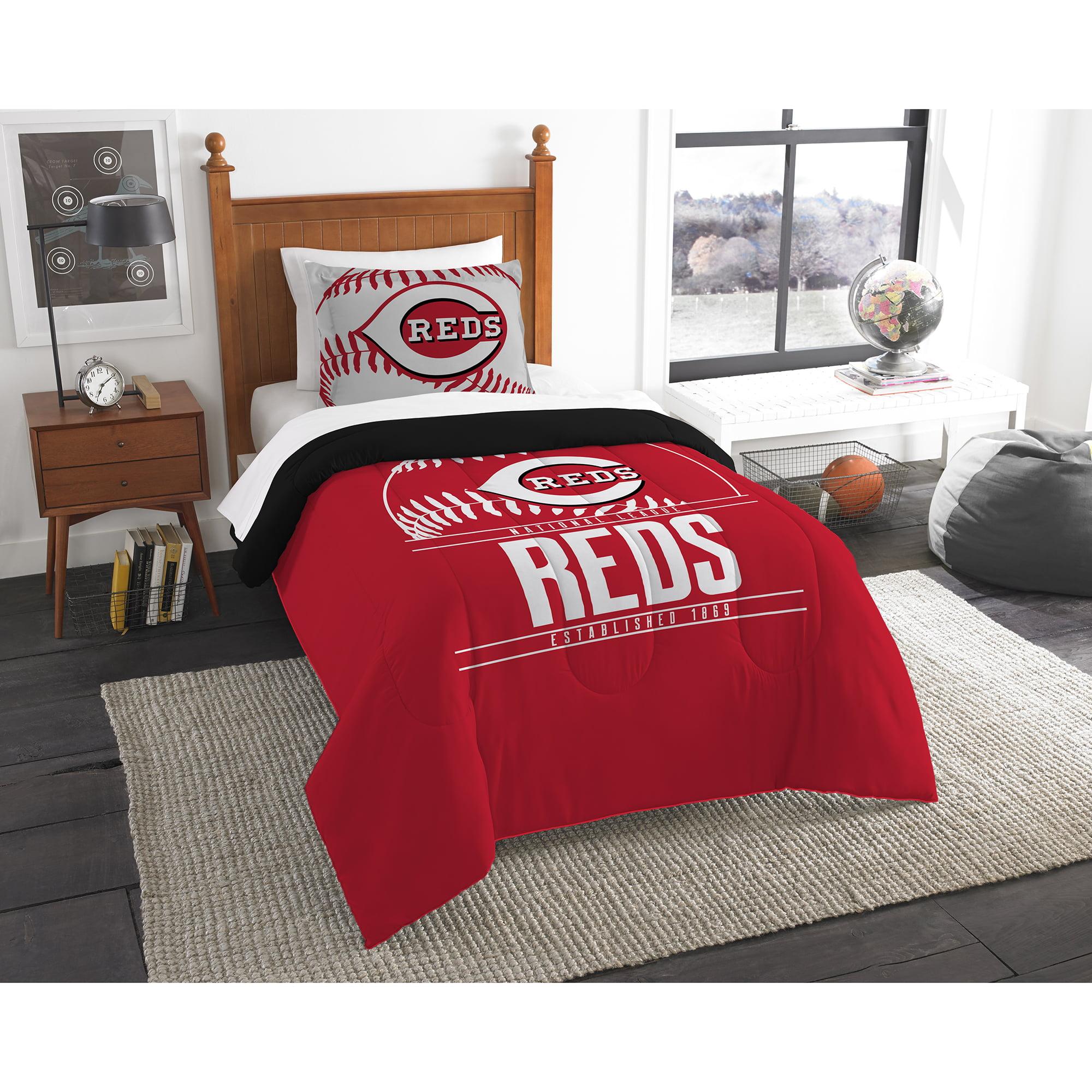Cincinnati Reds The Northwest Company Grand Slam Twin Comforter Set - No Size