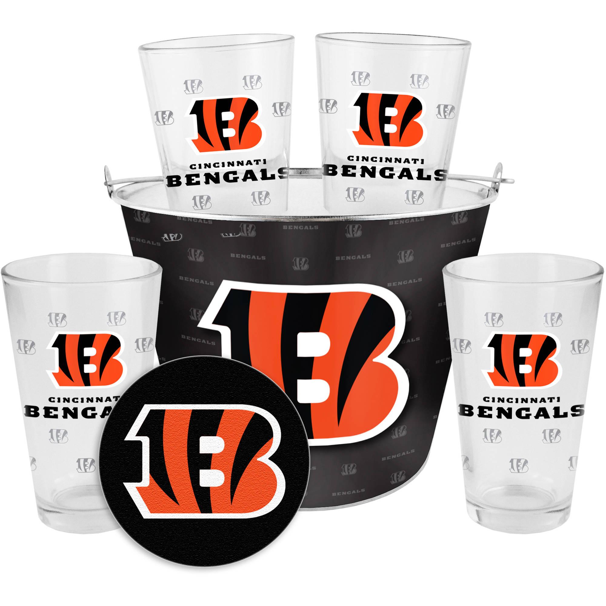 Boelter Brands NFL Gift Bucket Set, Cincinnati Bengals