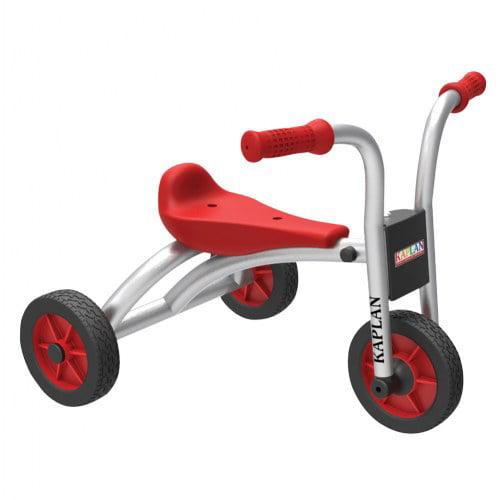 Kaplan Toddler Walker Trike - Red/Silver (Set of 2)