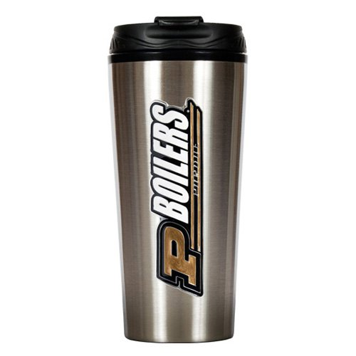 NCAA - Purdue Boilermakers 16oz. Stainless Steel Travel Tumbler