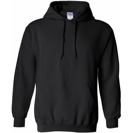 Gildan Hooded Sweatshirt Heavy Blend 18500 Small- Black