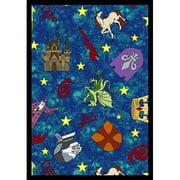 Joy Carpets Mythical Kingdom Kids Area Rug